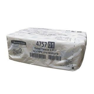 Scott Toilet Paper Rolls 10cm x 11cm 2 Ply - Carton (48)