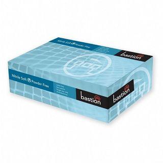 Bastion Glove - Nitrile Soft Blue P/F Medium - Carton (1000)