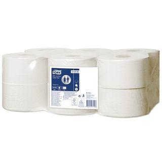 Tork Mini Jumbo Toilet Roll 170m - Pack (12)
