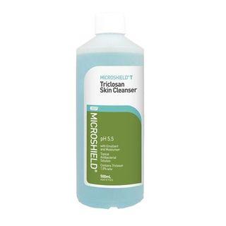 Microshield T Triclosan Skin Cleanser 500mL - Each