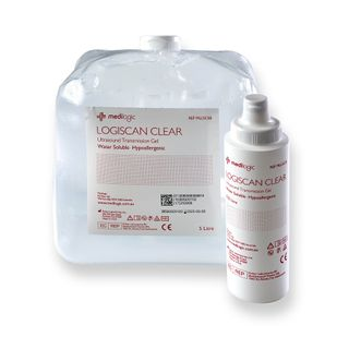 Logiscan Ultrasound Gel 5L Clear - each