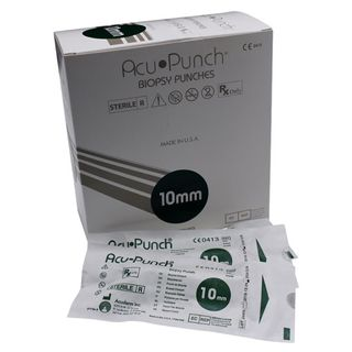 Acu-Punch Biopsy Punch 10mm - PACK (10)