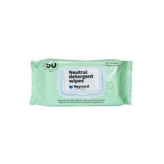 Neutral Detergent Wipes - Pack (50)