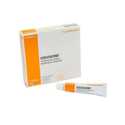 Iodosorb Ointment 10g Tube - Box (4)