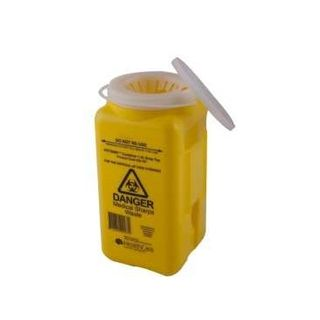 ASP Sharps Disposal Container 1.4L Clip De Notch Top