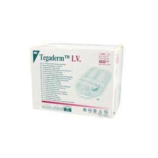 Tegaderm I.V. Tranparent 7cm x 8.5cm - Box (100)