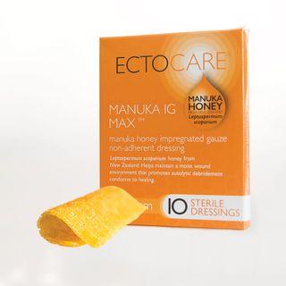 ECTOCARE Manuka IG MAX Dressing, 5cm x 5cm - Box (10)
