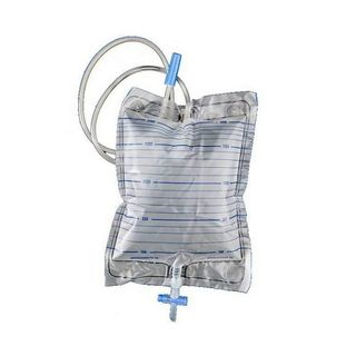 Urinary Night Bag (drainage) 120cm Tube 2000mL - Each