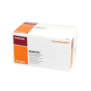 Remove Adhesive Wipes - Box (50)