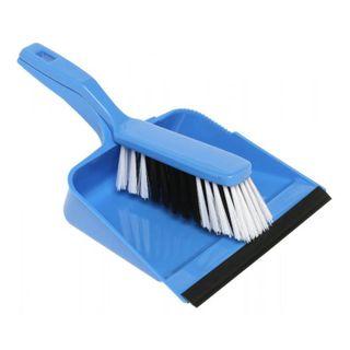 Brush/Dustpan Set Edco Blue