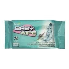 Baby Wipes Oates Pk/80