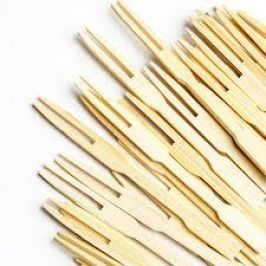 Bamboo Cocktail Fork 9cm x100