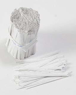 Twist Ties Paper 75mm Pk/1000