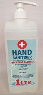 Hand Gel Sanitiser 950ml