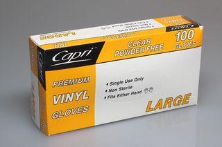 Glove Powder Free Large