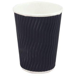 Cup Cool Wave 12oz Black Pk/25