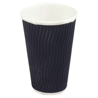 Cup Cool Wave 16oz Black Pk/25