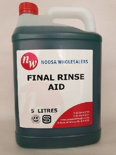 Final Rinse Drying Aid 5L