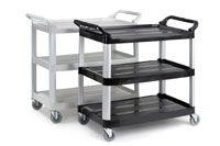 Trolley Utility Cart 3 Shelf