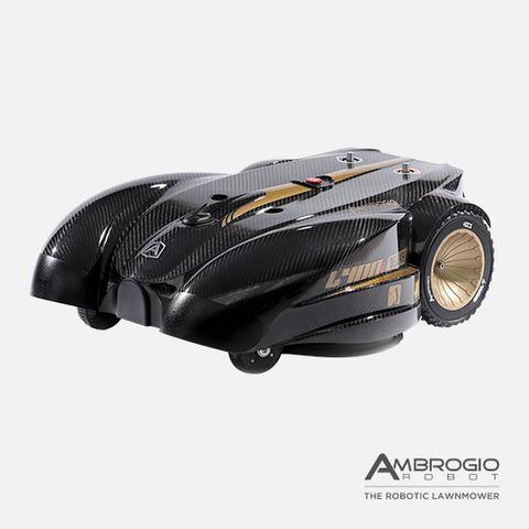 ambrogio l400 deluxe robotic mower