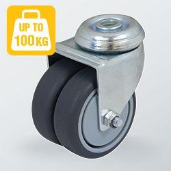 Utility Series Twin Wheel Castors