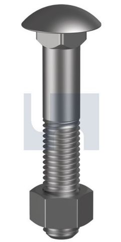 M10X130 Cuphead B/N CL 4.6 HDG