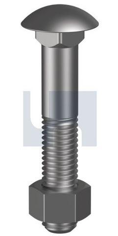 M10X140 Cuphead B/N CL 4.6 HDG