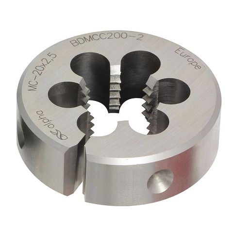 1/2X1 BSW Button Die Chrome