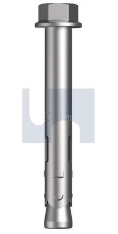 M10X60 Z/P Sleeve Anchor