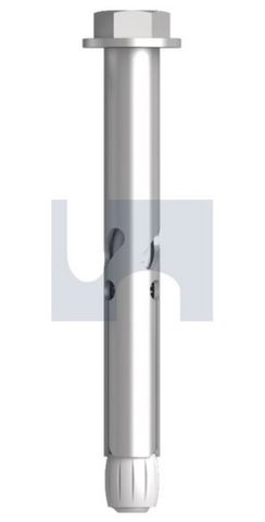 M10X100 Z/P Flush Head Sleeve Anchor