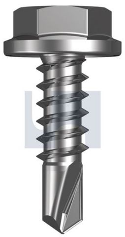 12-14X45 Hex Head Screw SDS CL3