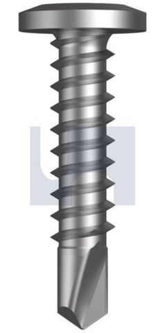 8-18X12 Wafer Head Screw SDS CL2