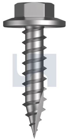 10-12X25 Hex Head Screw T17 CL2