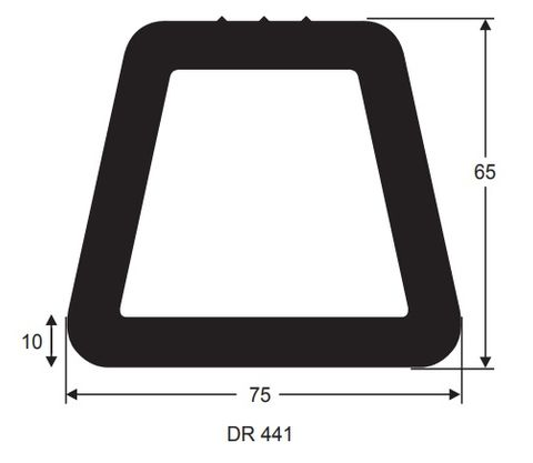 75X65 1m DOCKING RUBBER