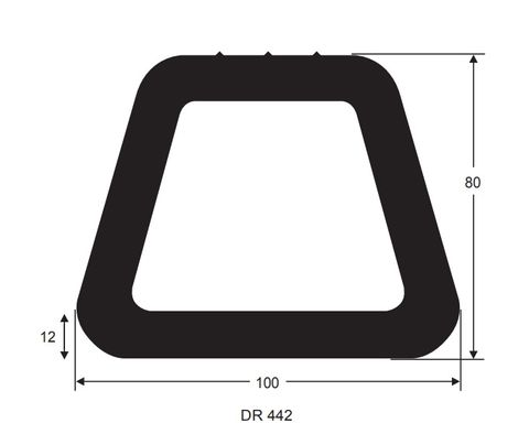 100X80 1m DOCKING RUBBER