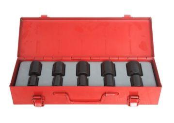 10PC 1/2 Metric Socket Set