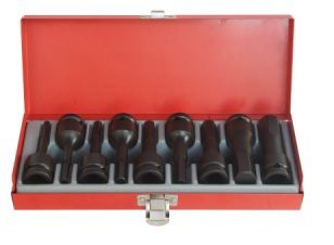 9PC 1/2D Imperial IN-HEX Socket Set