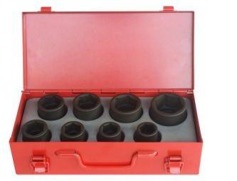 8PC 3/4D Metric Socket Set