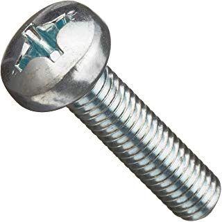 M2.5X12 Z/P Pan Phil Metal Thread