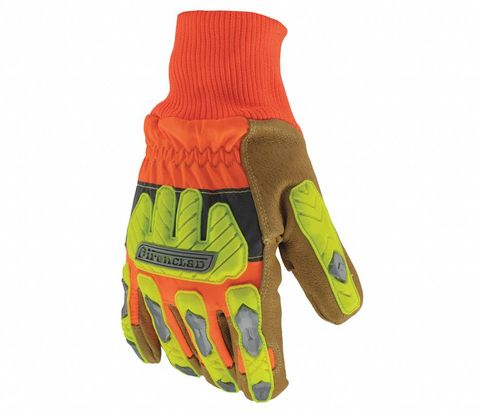 Command - Winter Insulated Leather Cut A5 Hi-Viz