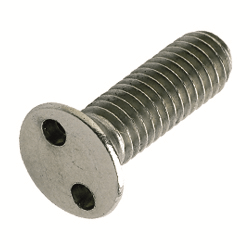 10-24 X 1/2 PROLOK TWO HOLE CSK M/SCREW