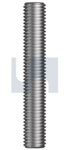 1/4X3 UNC Threaded Rod HT Plain