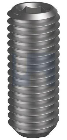 M2.5X12 Cup Point Grub Screw