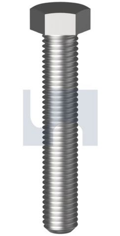 M10X80 Hex Set Screw GR304