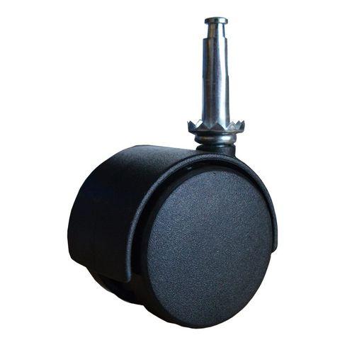 (2) Twin Wheel Stem Castors