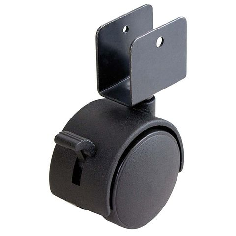 50mm Diameter Desk Castor With Brake