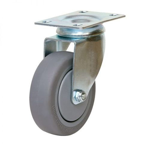 100mm Inst Rubber Wheel 100kg
