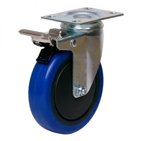 100mm Swivel Light Industrial Castor W/B