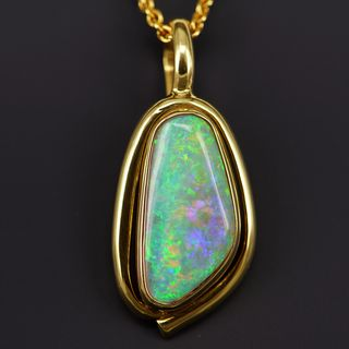 Light Opal Pendant