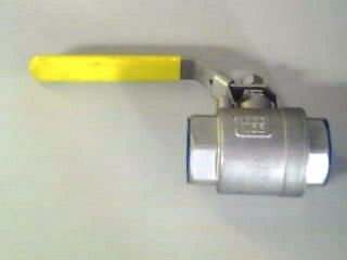 "Ball Valve  F F (1/4"" 6mm) - Lever Ss"